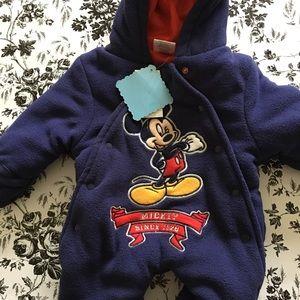 Disney Boy's Mickey Heavy Weight Pram Size 0/3M